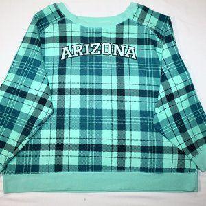 (2X) ARIZONA American Crown Plaid Sweater